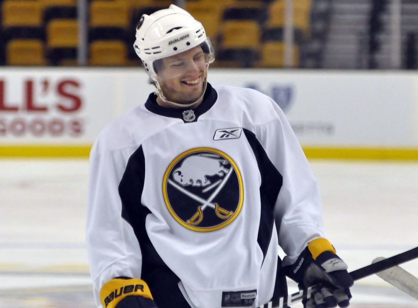 Sabres' Gerbe developing into strong checker as offense vanishes