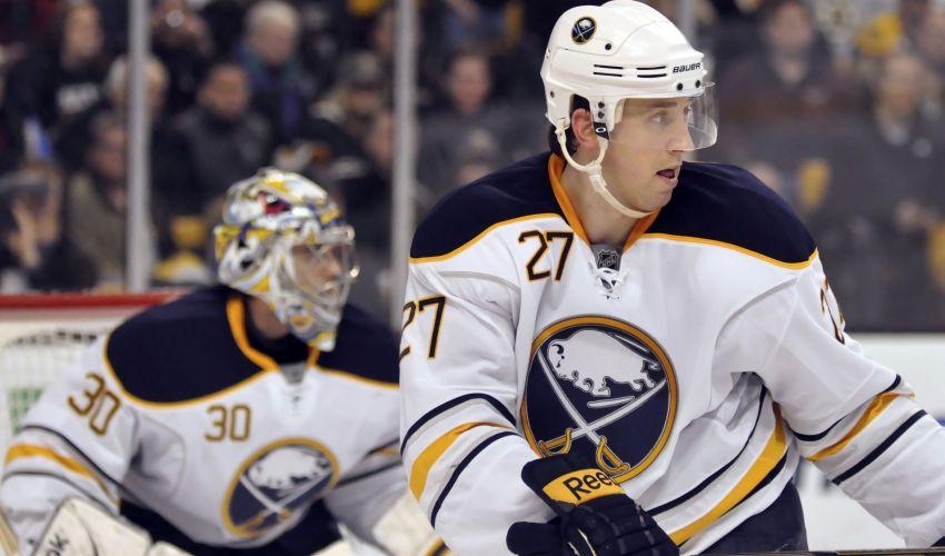 Former Sabres defenseman Morrisonn signs with KHL club