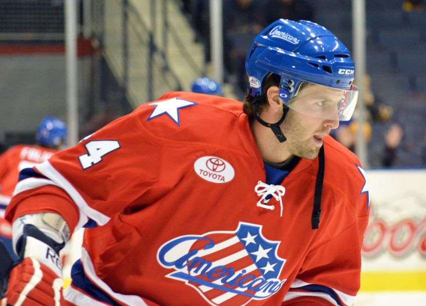 Amerks send former top defense prospect Schiestel to ECHL