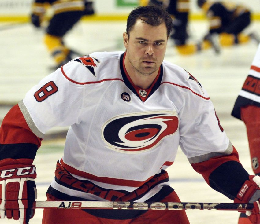 Former Sabres standout Spacek happy to be parked in Carolina