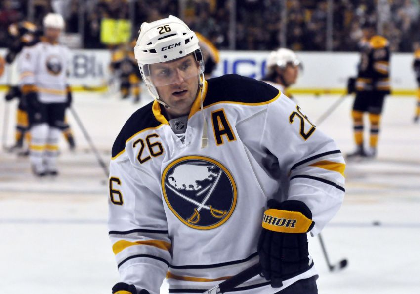 Austrian adventure almost over for Sabres' Vanek