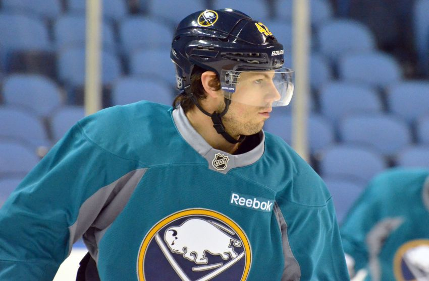 Sabres' Gerbe skating on line with Grigorenko, could return Thursday