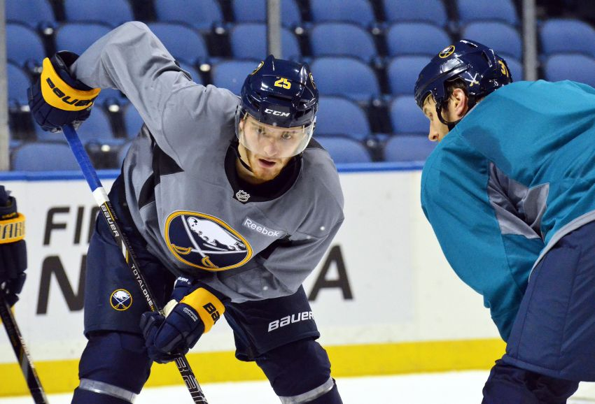 Top prospect Grigorenko makes 23-man roster; Sabres mum on status for opener