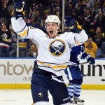 Leafs stun Sabres late in overtime, spoil Grigorenko's first goal