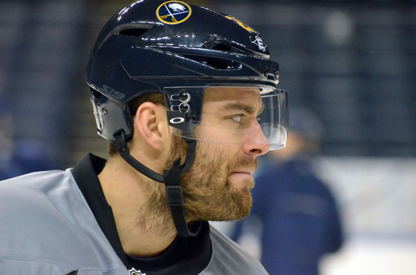 Sabres say no surgery planned for Leino's injured hip