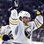 Sabres captain Pominville back in Buffalo after short stint overseas