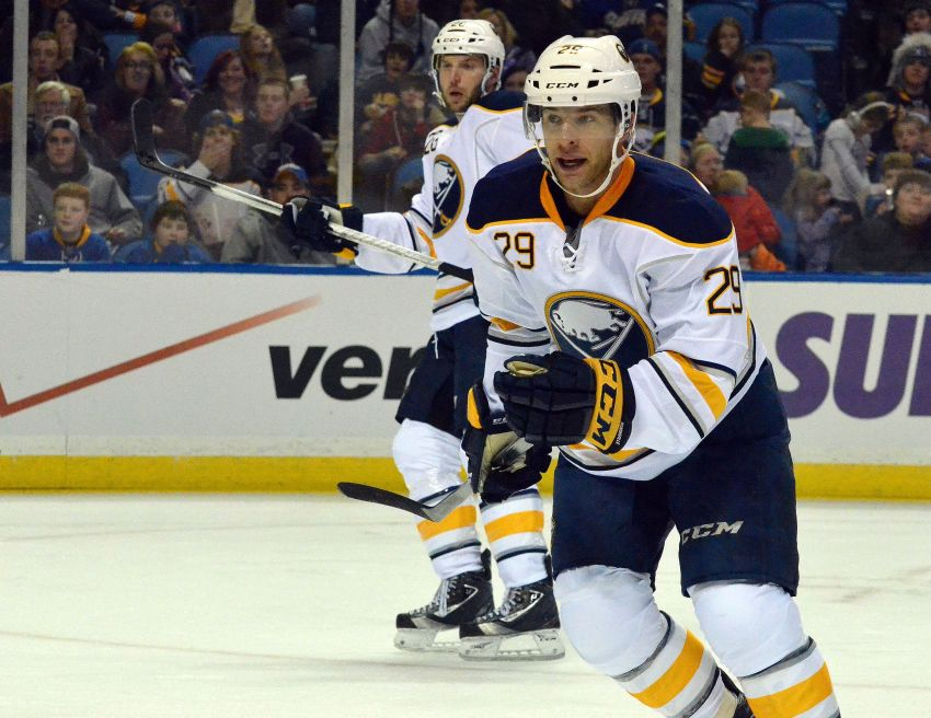 Sabres' Pominville, Vanek proving to be dynamic wing combination