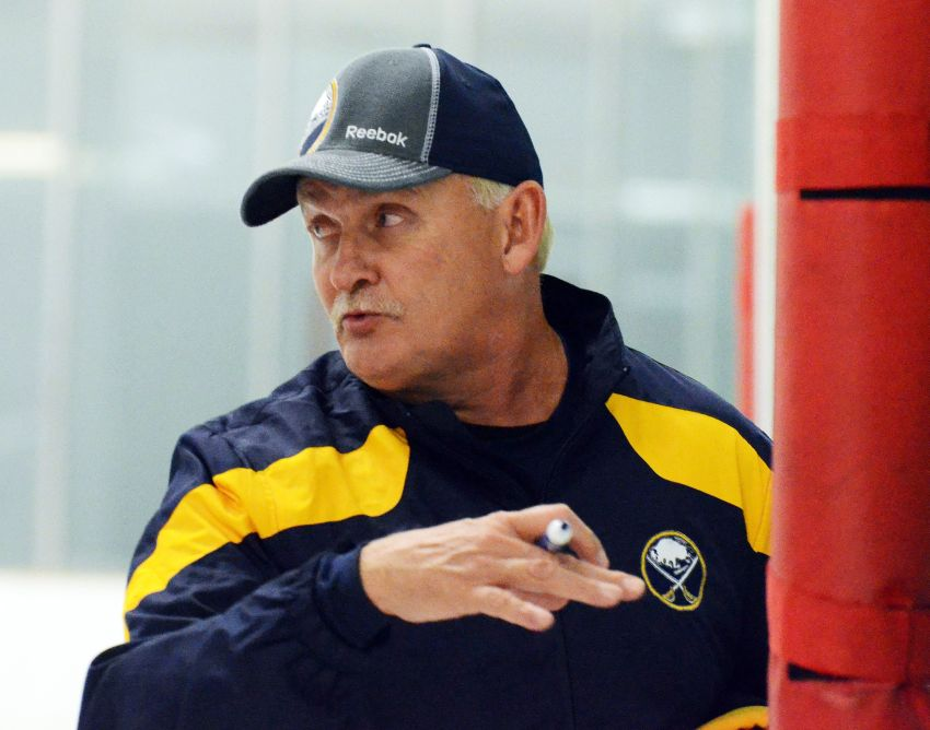 Sabres' Ruff always believed NHL season would be played