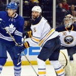 Sabres' Weber still battling for regular spot on blue line