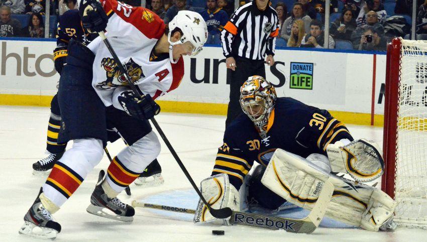 Sabres blow lead to Panthers, waste Vanek's 3-point effort