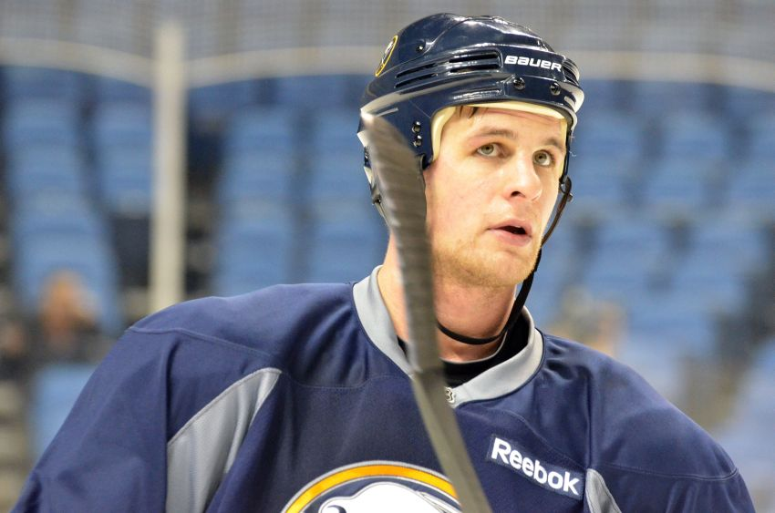 Sabres summon Pardy from Rochester with Sulzer sidelined