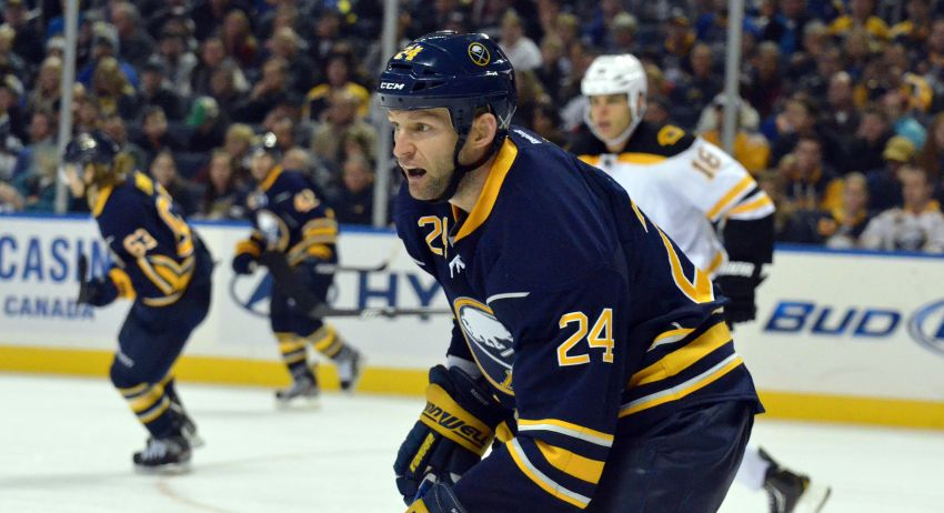 Grigorenko and Myers sit as Regehr returns; Sabres waive Ellis
