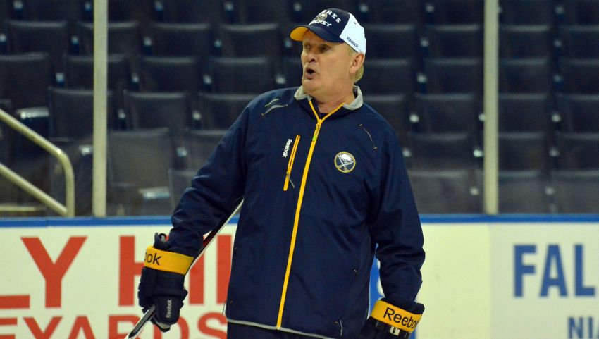 Ruff insists Sabres haven't become stale