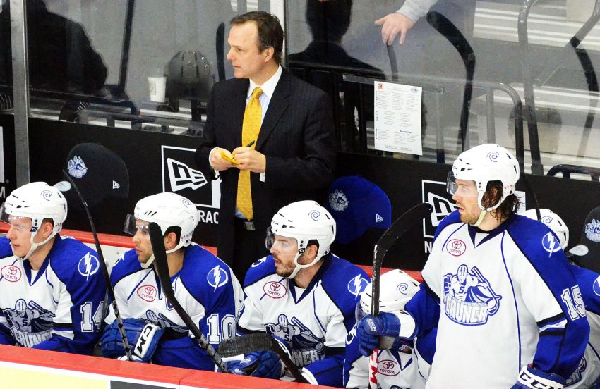 Yzerman insists Ruff wasn't on Lightning's radar