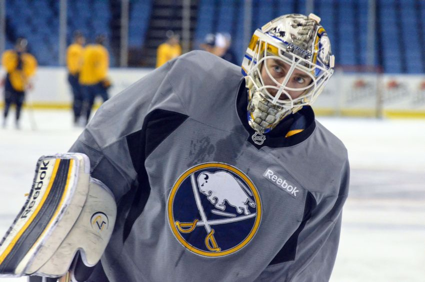 Miller's sinus infection will give Sabres' Enroth start tonight; Leopold back in