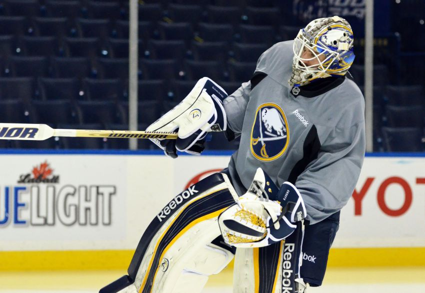 Sabres backup goalie Enroth to start tonight against Capitals