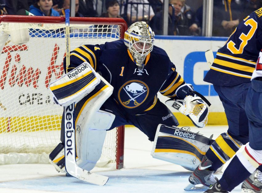 Sabres' Vanek out again; Rolston mum on starting goalie