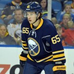 Sabres rookie Flynn makes NHL debut as injured Vanek sits