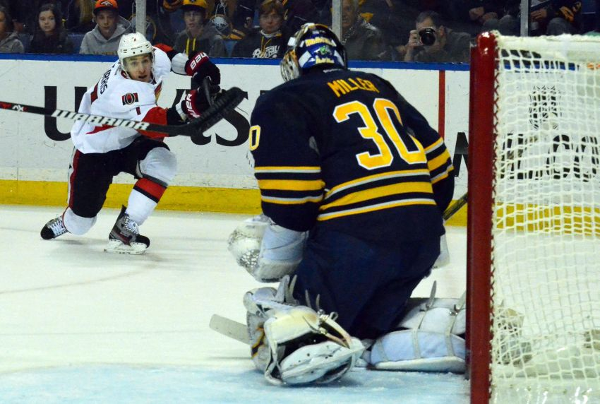 Awful second period dooms Sabres in overtime loss to Senators