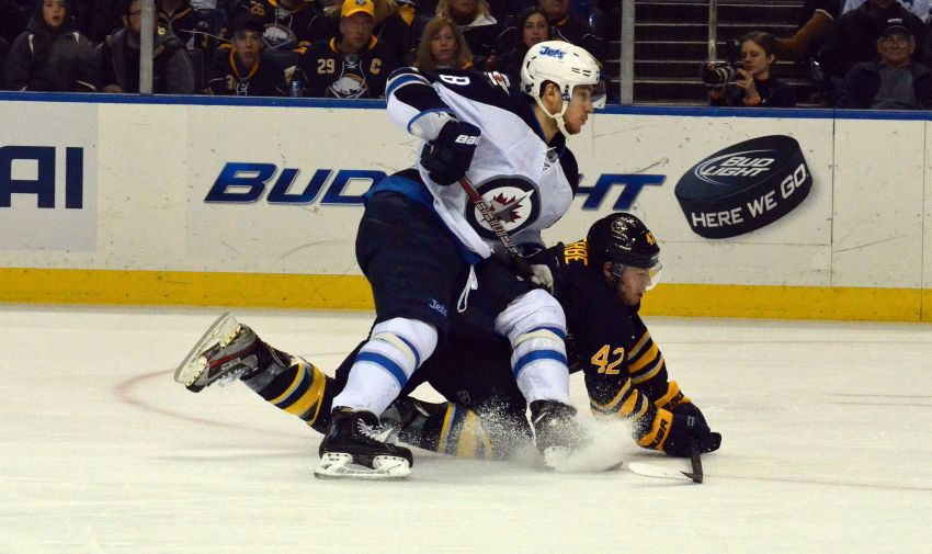 Why can't Sabres' Gerbe score regularly?
