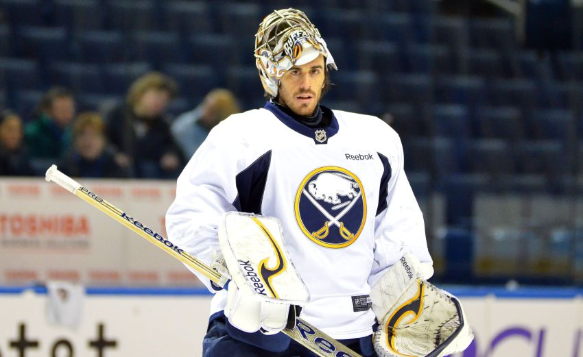 Miller to start for Sabres tonight; Rolston wants to play Enroth again soon