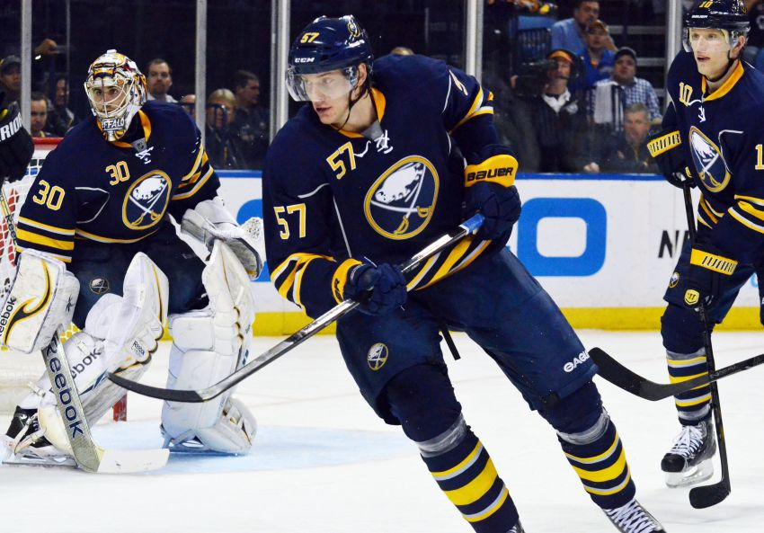Sabres' Myers hoping defense-first philosophy will turn around season
