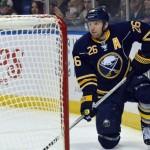 Sabres' Vanek questionable for Thursday
