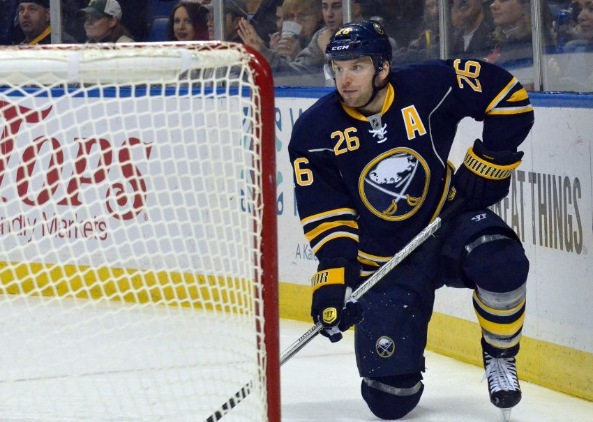 Sabres' Vanek questionable for Thursday