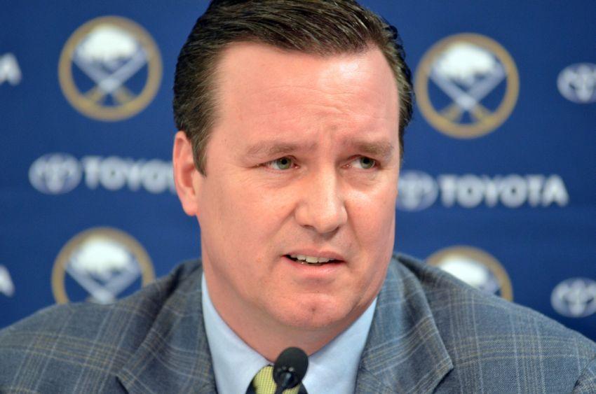 Sabres president Black grilled at season-ending news conference