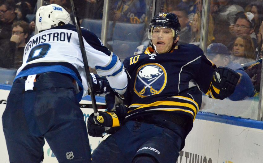 Sabres' Ehrhoff excited to respresent reeling German national team