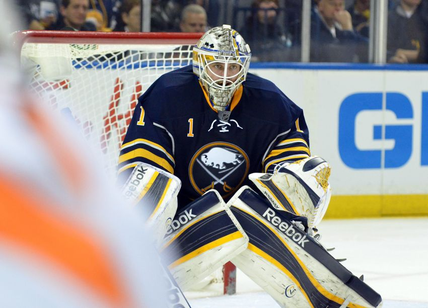 Rolston mum on Sabres' starting goalie; struggling Ennis to stay on wing