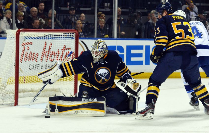 Sabres' Enroth grounds Lightning in second consecutive start