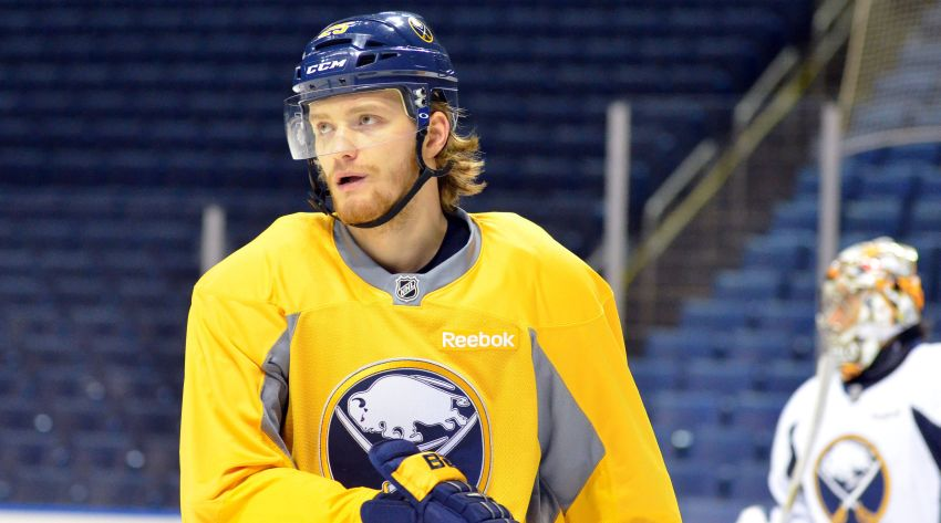 Grigorenko energized by return to Sabres