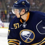 Sabres down to five defensemen after Myers' season-ending leg injury