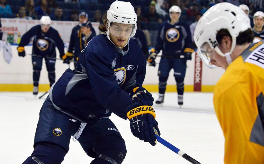 With roster place secure, Sabres prospect Mikhail Grigorenko concentrating on next season