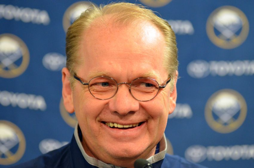 Darcy Regier: Ryan Miller and Thomas Vanek could still be with Sabres come training camp