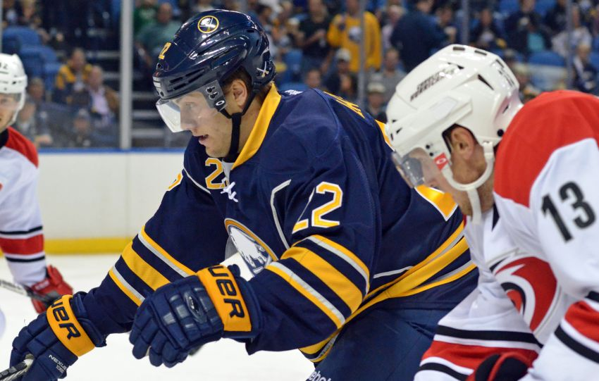 Center prospect Johan Larsson making strong bid to crack Sabres' opening-night lineup