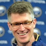 Sabres' Ron Rolston believes coaches will think about using enforcers following brawl fine; Corey Tropp out indefinitely with broken jaw