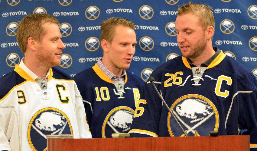 Ron Rolston on naming Steve Ott and Thomas Vanek Sabres co-captains: 'It's all about the influence they have on the team'