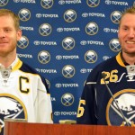 Thomas Vanek and Steve Ott ready to captain Sabres