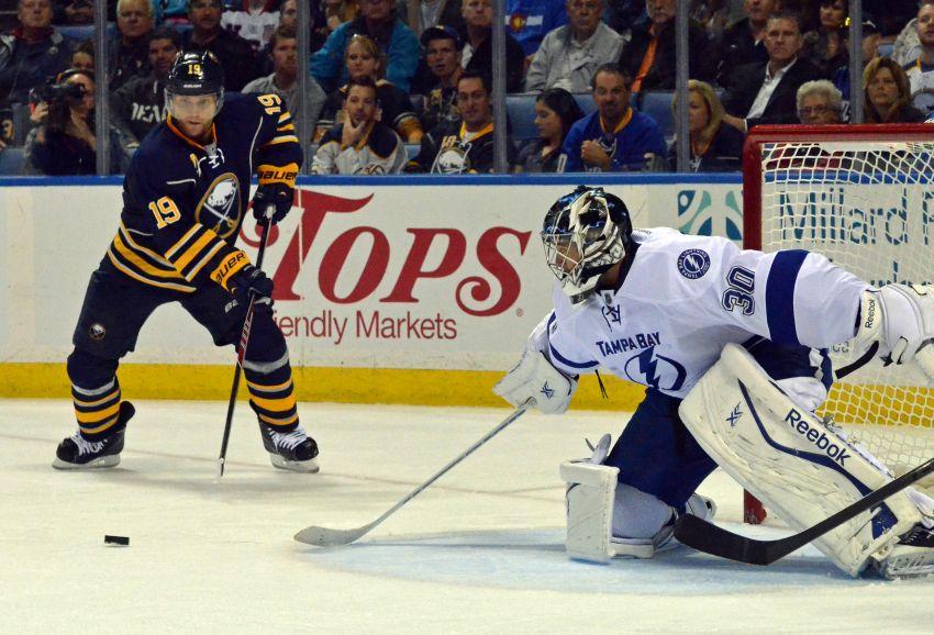 Disallowed goal momentum-killer in Sabres' OT loss to Lightning