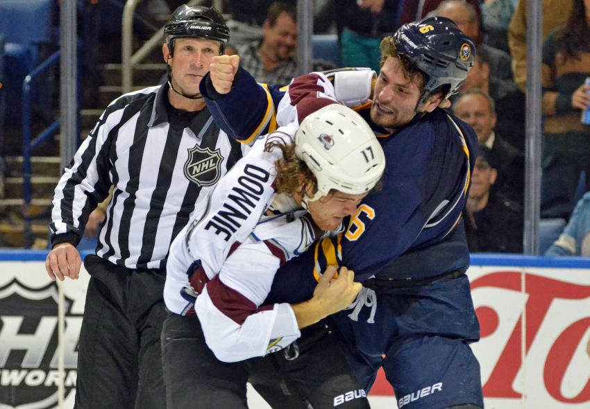 Awful first period dooms Sabres in loss to Avalanche