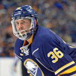 Sabres' Johan Larsson replaces struggling Mikhail Grigorenko; Henrik Tallinder hopeful of weekend return