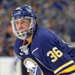 Sabres' Johan Larsson replaces struggling Mikhail Grigorenko; Henrik Tallinder hopeful of weekend return