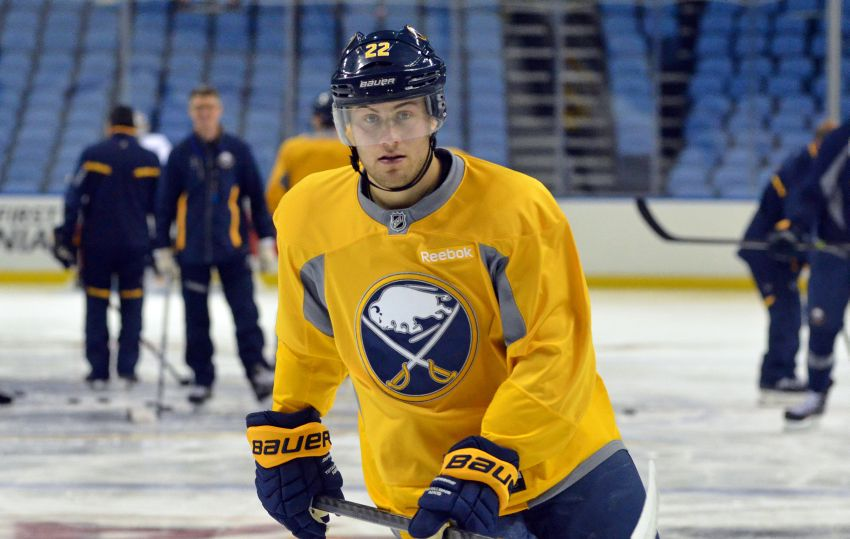 Rookie Johan Larsson ready for Sabres debut