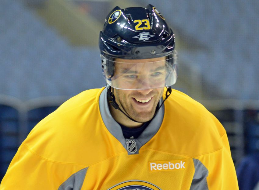 Healthy Ville Leino excited about new opportunities with Sabres