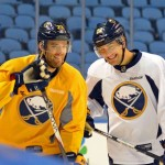Ville Leino's cracked rib opens up opportunity for Sabres rookie Johan Larsson