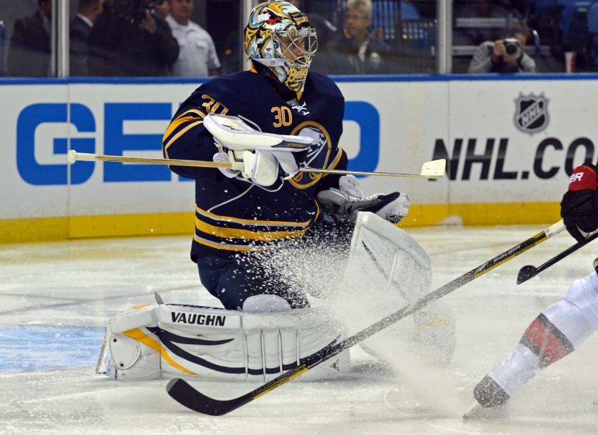 Sabres goalie Ryan Miller set to return; rookie Nikita Zadorov back practicing