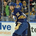 Sabres tough guy John Scott apologizes for head hit, defends his reputation and role: 'I don't think I'm dirty'