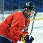 Sabres' Corey Tropp practicing again, not upset with Jamie Devane for breaking jaw